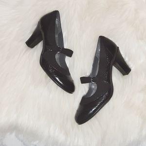 Aerosoles   Black Mary-Jane Heels